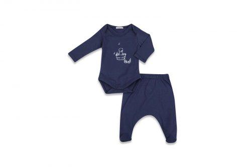 סט 3 חלקים כחול תינוקת