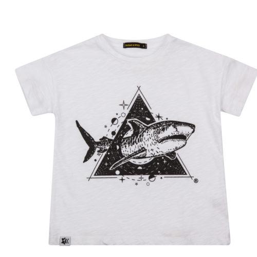 חולצה הדפס כריש