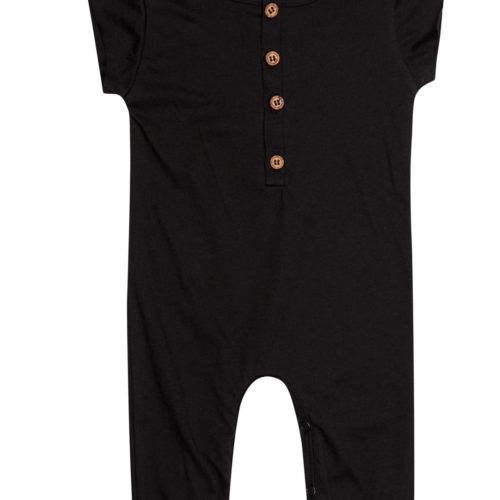 אוברול מכנס ארוך שחור