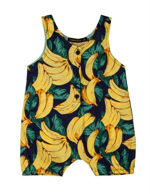 אוברול אריג בננות