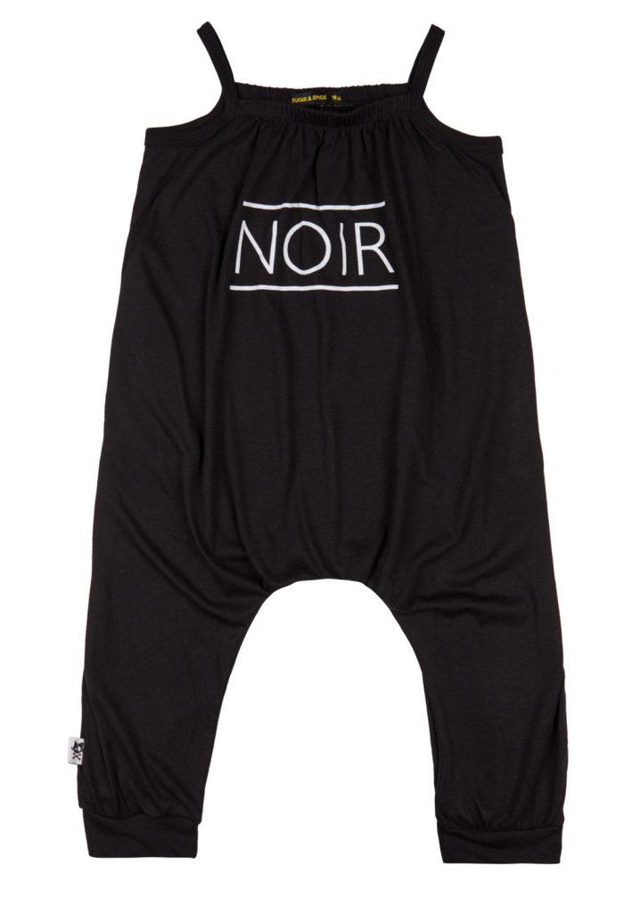 אוברול שחור NOIR