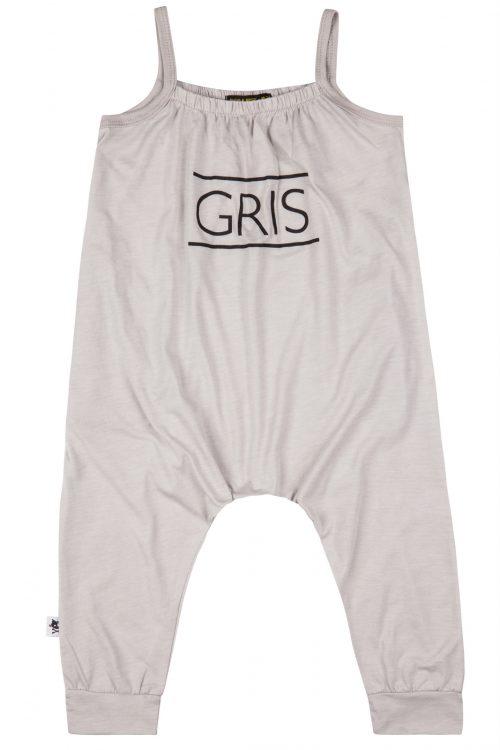 אוברול אפור GRIS