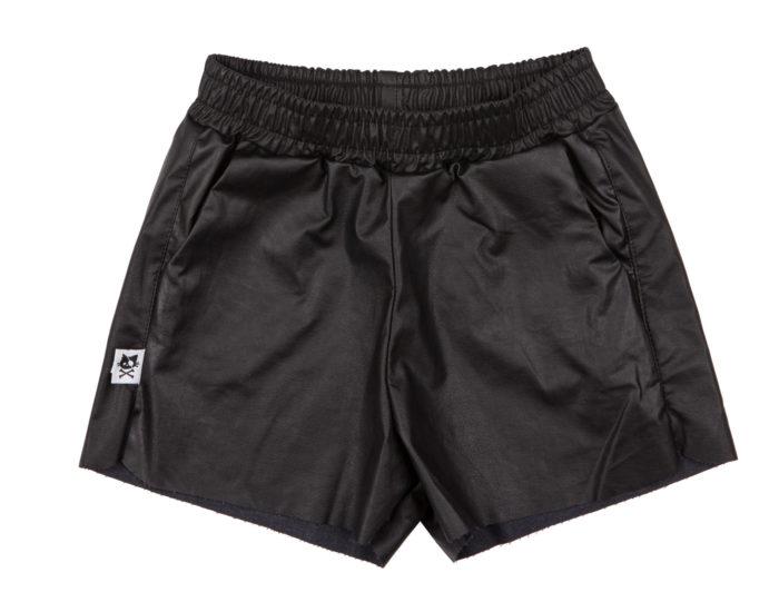 מכנס עור שחור
