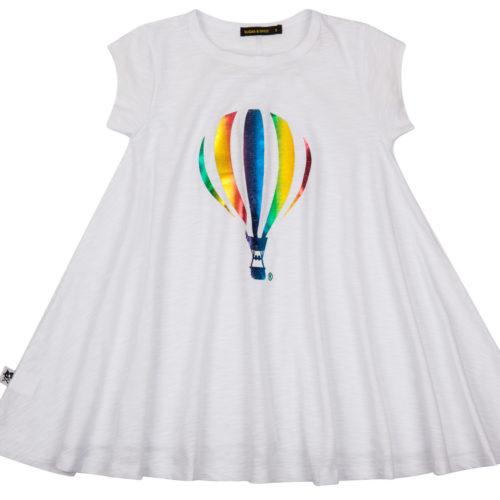 שמלה מסתובבת כדור פורח