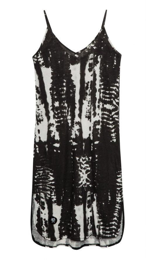 שמלת טיידי אפורה