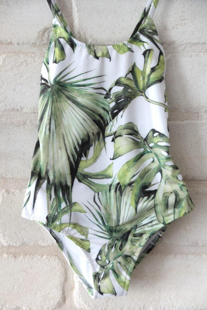 בגד ים עלים ירוקים