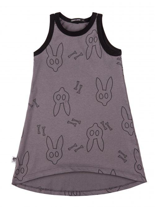 שמלת ים ארנבים אפורה