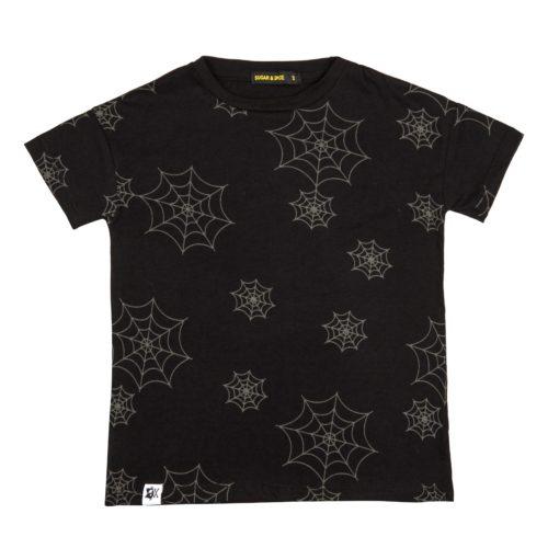 חולצת קורי עכביש שחורה