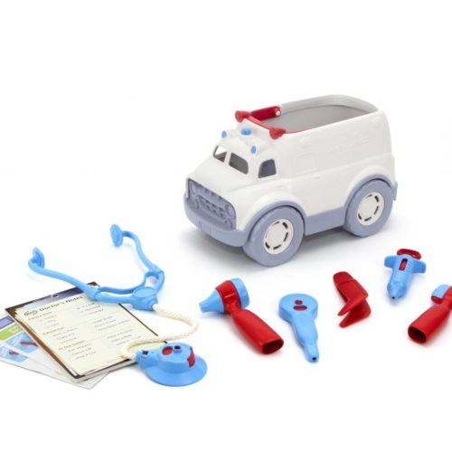 סט אמבולנס עם ערכת רופא green toys