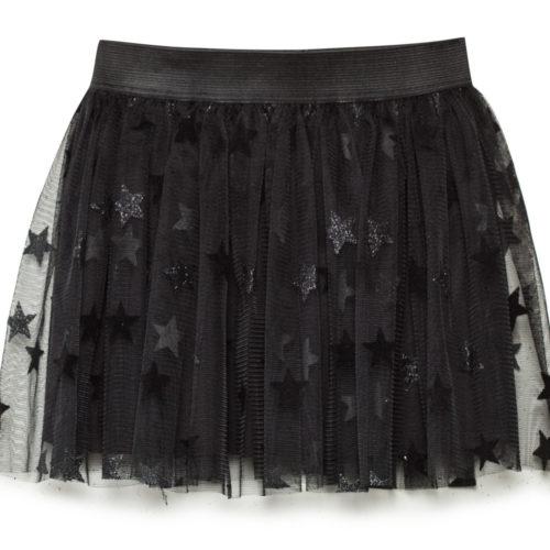 חצאית טוטו שחורה כוכבים