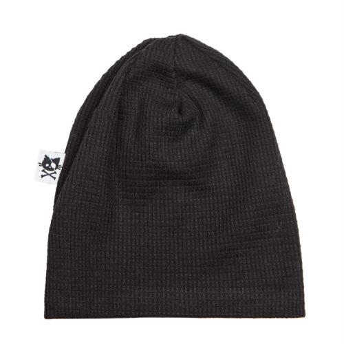 כובע וופל שחור