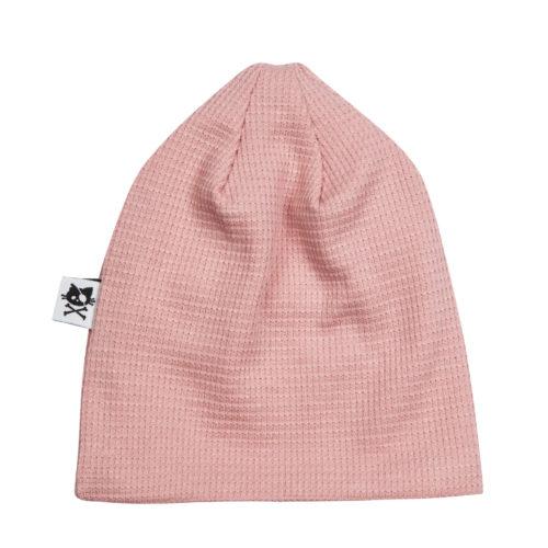 כובע וופל ורוד