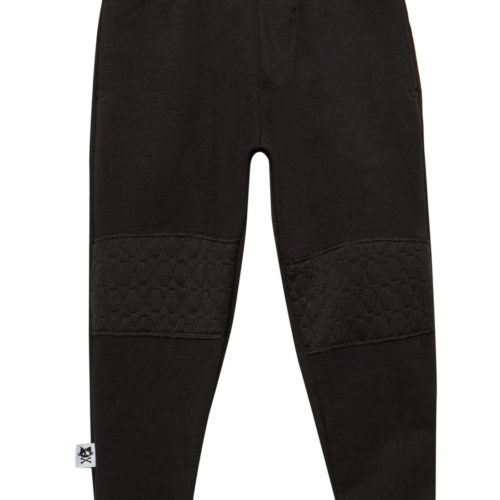 מכנסי ילדים פצ'ים שחור