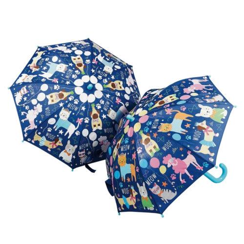 מטריה לילדים מחליפה צבעים